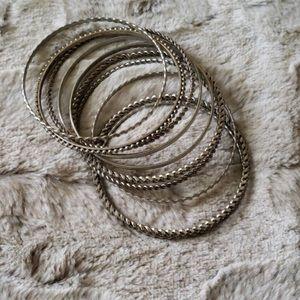 🌸Buckle Bracelet Bangle Set